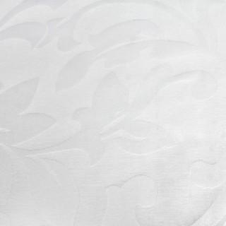 Скатерть 1,50х1,50 м «Валенсия» белая флор [00-white]