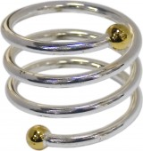 Кольцо для салфеток 40 мм спираль [TT-1S2]